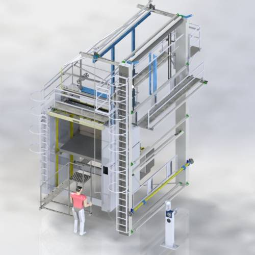 Meter Folding Machine